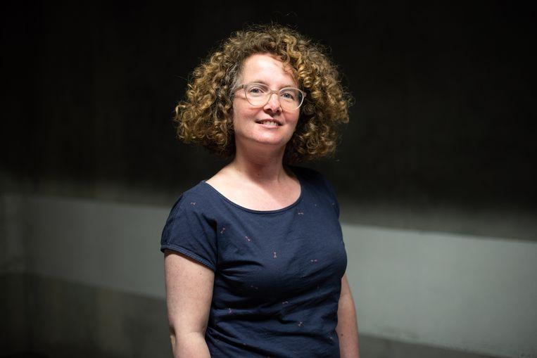 Professor taalkunde Sarah Bernolet. Beeld Wouter Maeckelberghe