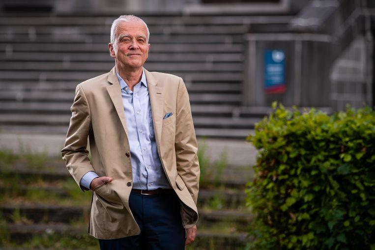 Rector Herman Van Goethem van de UAntwerpen. Beeld Gregory Van Gansen/Photo News