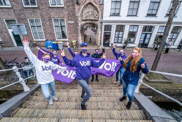 Verkiezingen - Volt is een grote winnaar in Delft