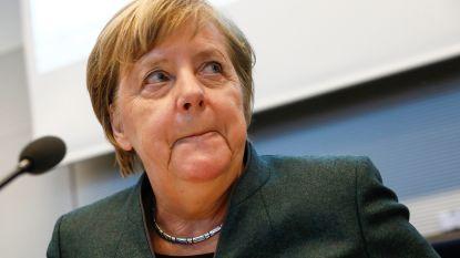 """Duitse coalitie staat achter Merkel: """"Als zij uitstapt, wij ook"""""""
