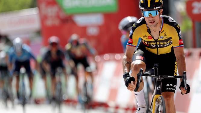 Roglic gaat op slotmuur over vroege vluchter Cort en wint z'n tweede etappe in de Vuelta