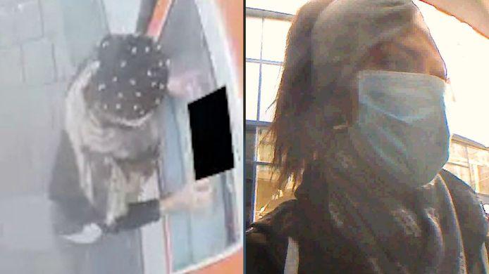 Politie zoekt verdachten van pinpasfraude in Amersfoort.