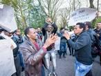 Gearresteerde Eritrese actievoerders in Veldhoven vrijgelaten