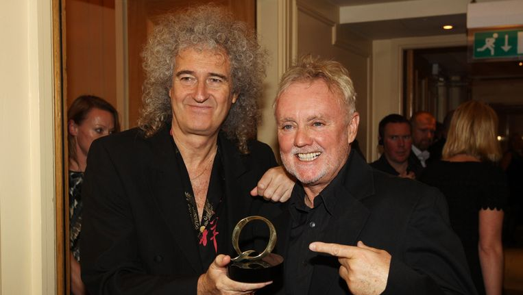 Brian May en Roger Taylor. Beeld getty