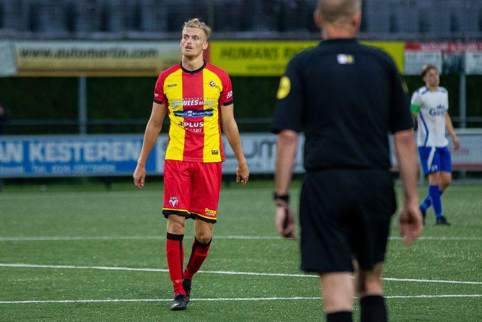 Terug van weggeweest bij Juliana: Jordie van der Laan.