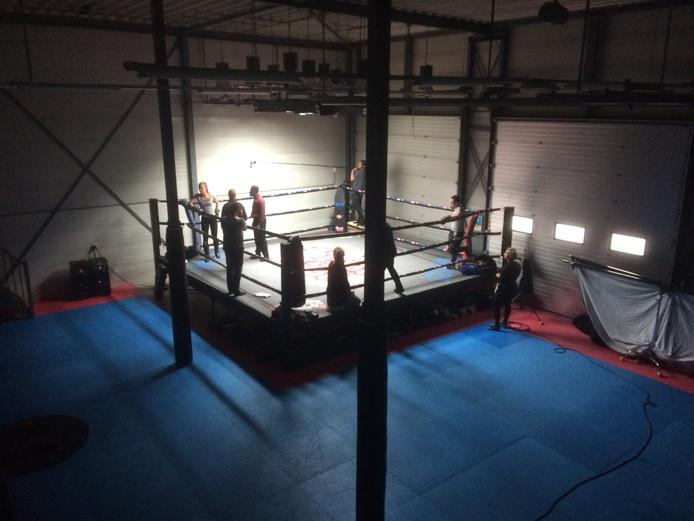De kickboksschool in Warnsveld. Foto: Iris Verbunt