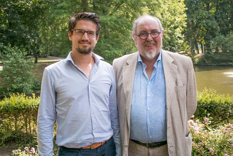 """Het Beverse sp.a-raadslid Issam Benali en sp.a Waasland-voorzitter Julien Van Geertsom: """"We moeten in het Waasland krachtdadiger en eensgezind onze stem laten horen. We lopen veel te veel aan het handje van Antwerpen."""""""