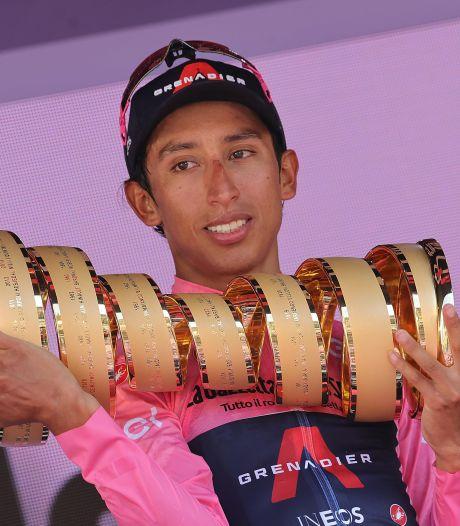 Egan Bernal, vainqueur du Giro, testé positif à la Covid-19