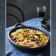 Tartiflette met chorizo & spinazie