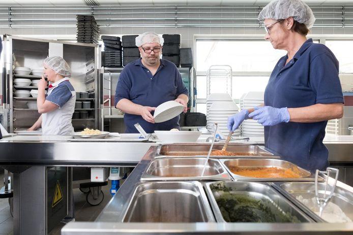 Illustratiefoto van een keuken in een woonzorgcentrum.
