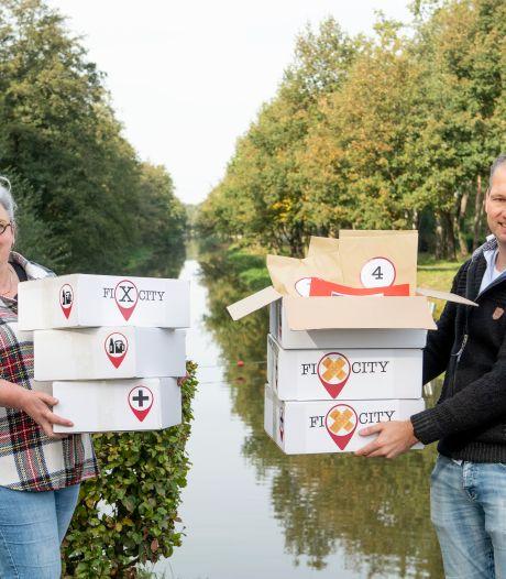 Corona alternatief voor fans Escaperooms in Tubbergen: in klein gezelschap zoeken naar redding voor Fixcity