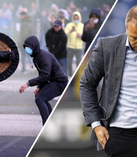 De Gegenpressing Video   Positie van Steijn wankelt en relschoppers misdragen zich: 'Die mensen zijn de schaamte voorbij'