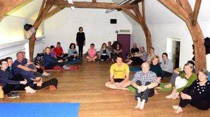 Heel Galmaarden aan het yogaën dankzij De Mark