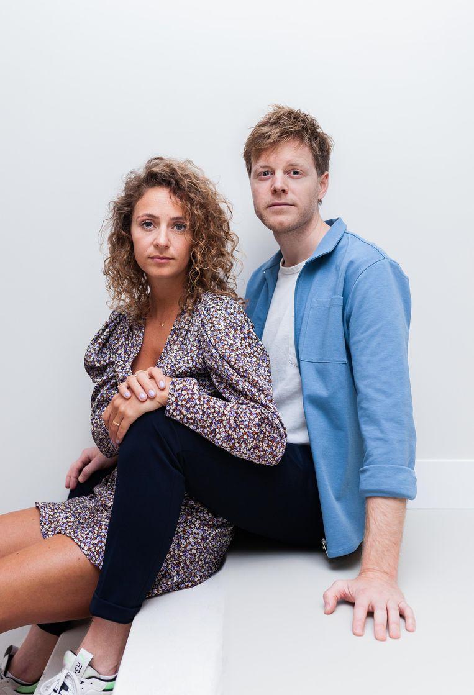 Lex Uiting en Susan Oostdam. Beeld Nina Schollaardt