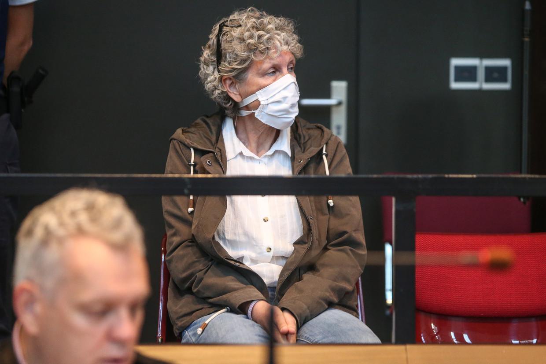 Hilde Van Acker tijdens een preliminaire zitting in september 2020, in Brugge. Beeld Photo News