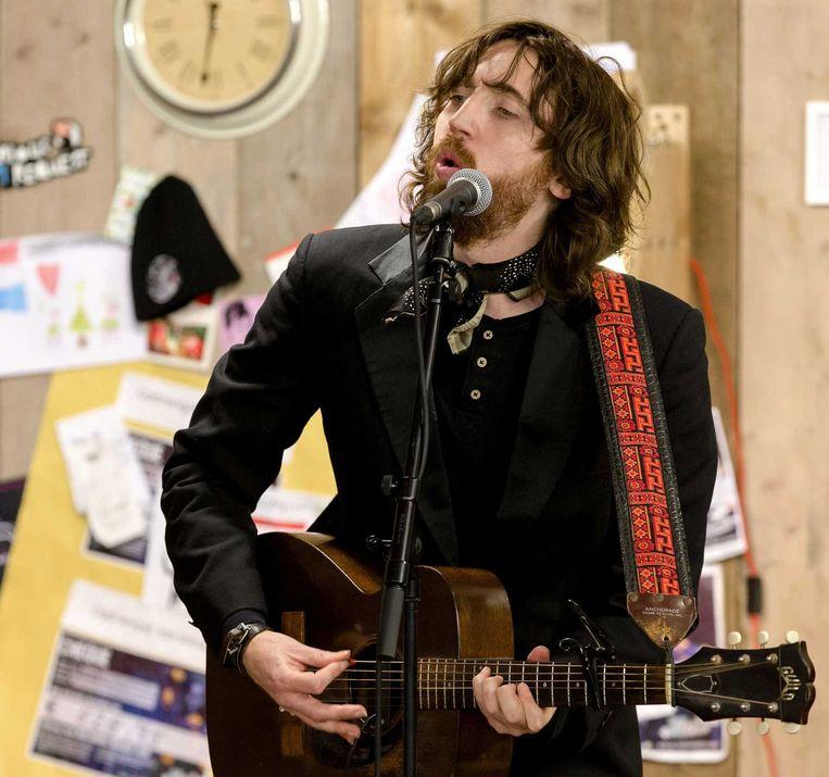 Een optreden van de Britse zanger Jonathan Jeremiah. Beeld anp