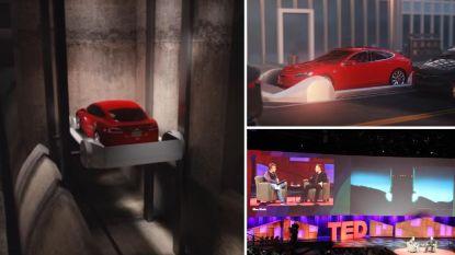 """Elon Musk: """"Eerste ondergrondse tunnel eind dit jaar open"""""""