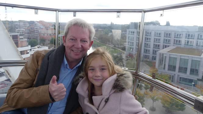 Reuzenrad draait opnieuw rondjes op Sint-Poppoplein