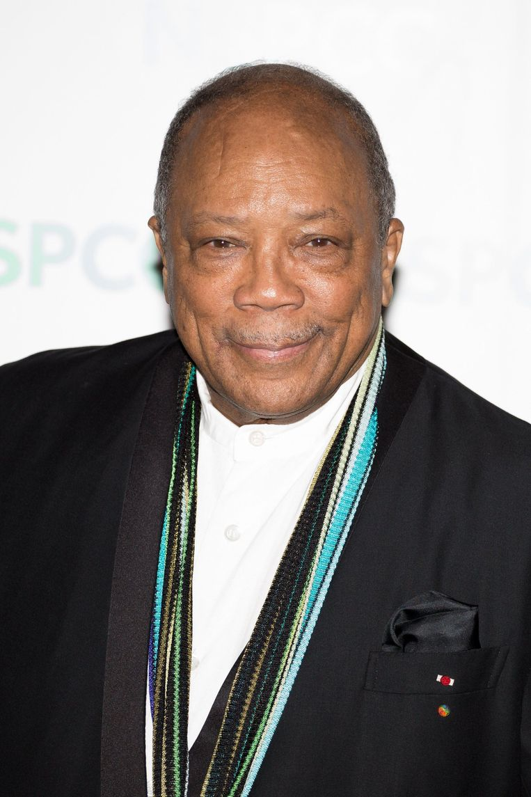 Quincy Jones. Beeld Photo News