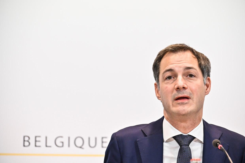 Premier Alexander De Croo. Beeld BELGA