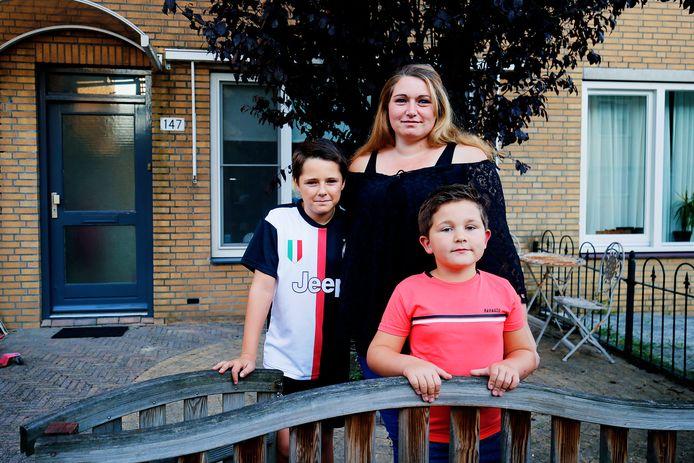Chantal en haar zonen wonen al bijna acht jaar bij de ouders van Chantal omdat ze maar geen sociale huurwoning kunnen vinden in Nieuwegein.