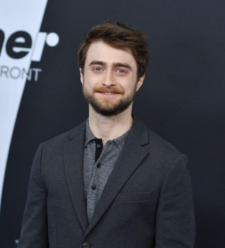 Daniel Radcliffe, die Harry Potter speelde in de films.  Beeld AFP