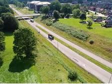 Vlieg mee over de stille rondweg tussen Delden en Hengelo