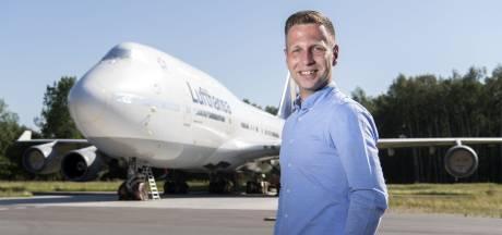 Jordi Rietman, voorvechter van het eerste uur, zoekt mee naar de 'stip op de horizon' voor Twente Airport