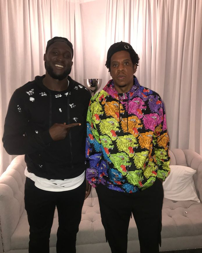 Lukaku en Jay-Z.