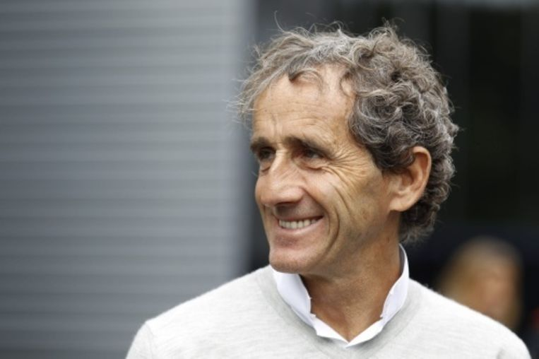 null Beeld Alain Prost. EPA