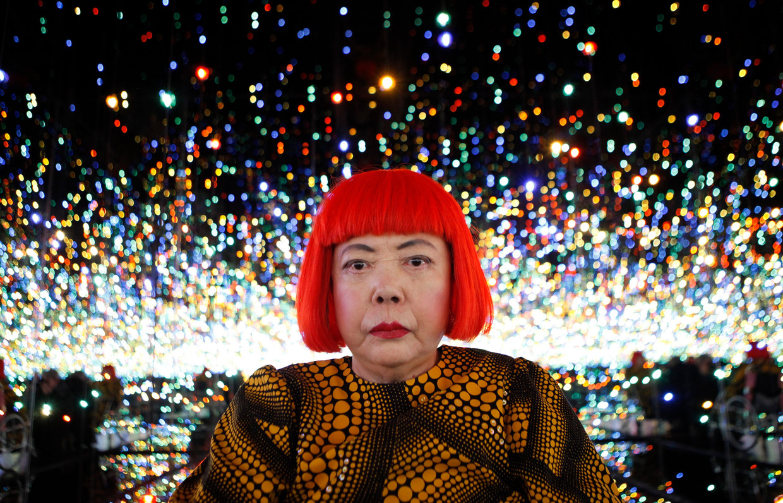 Yayoi Kusama. Beeld REUTERS