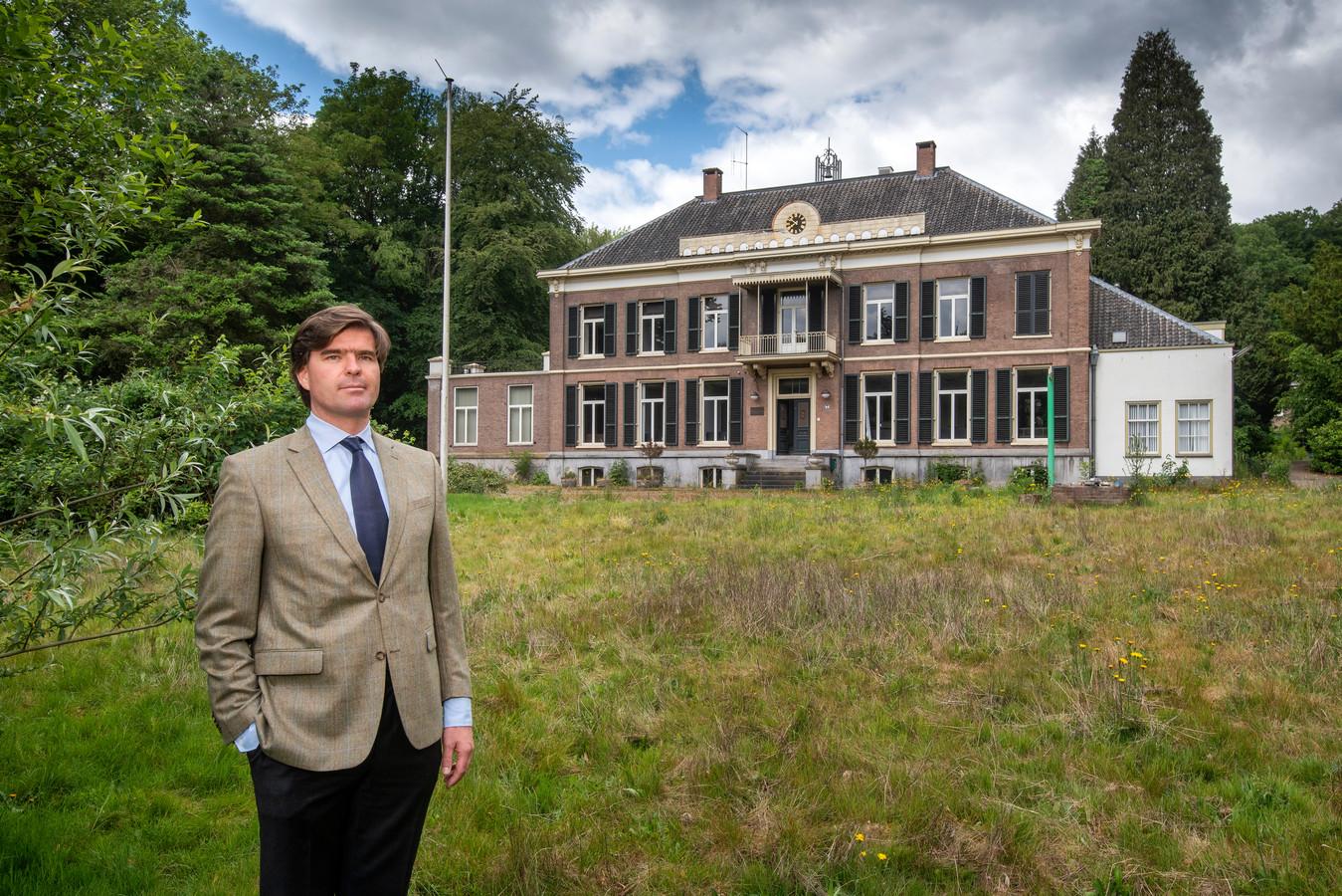 Charles Ratelband voor Huis Mariëndaal, gelegen in het gelijknamige park, op de grens van Arnhem en Oosterbeek.