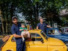 'Vlinderkindje' Awa (1) lijdt aan ongeneeslijke huidaandoening, en dus komt Fiat 500-club in actie