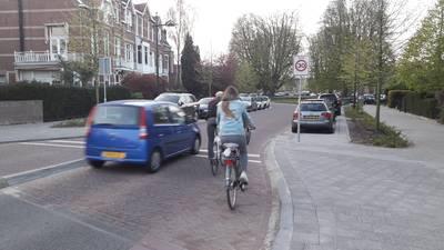 Ingreep nodig op Baronielaan: flessenhals gevaarlijk voor fietsers