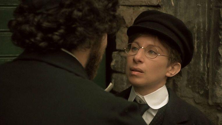 Barbra Streisand in 'Yentl' van Barbra Streisand. Beeld