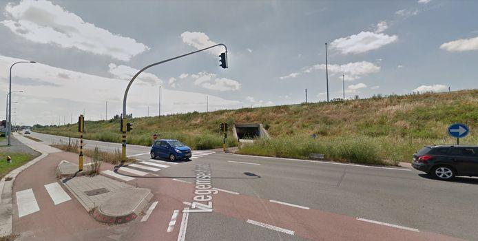 Na de paasvakantie starten werken voor het fietsveiliger maken van het kruispunt van de R8 met de Izegemsestraat in Heule.