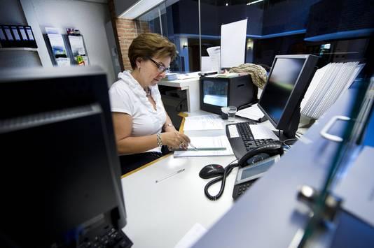 Een kantoorbaan vergt fysiek minder.