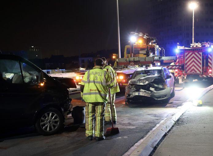 Er vielen twee gewonden bij het ongeval op de Noorderlaan.