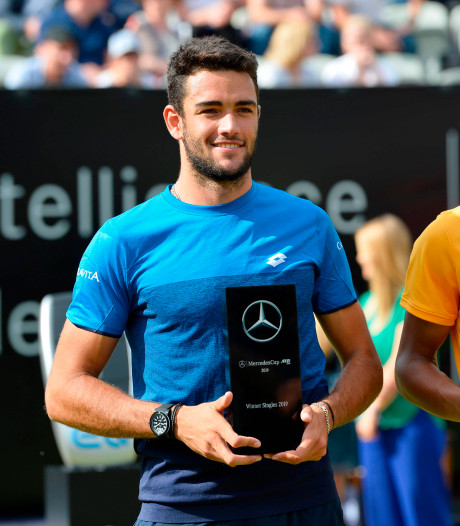 Berrettini pakt derde titel in ATP Tour