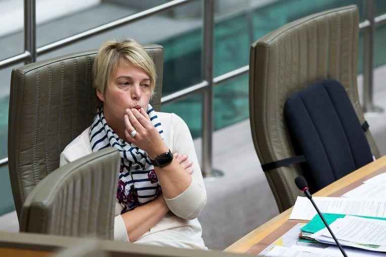 Vlaams minister van Natuur en Landbouw Joke Schauvliege. Beeld BELGA