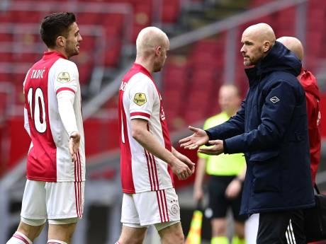 Ten Hag na zege Ajax: 'Ik wilde moordenaars achterin hebben'