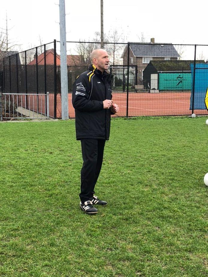 Edwin in de Weij begon zijn trainersloopbaan bij Waarde, maar gaat nu voor een derde seizoen bij 'zijn' Rillandia.
