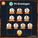 Vermoedelijke opstelling FC Groningen.