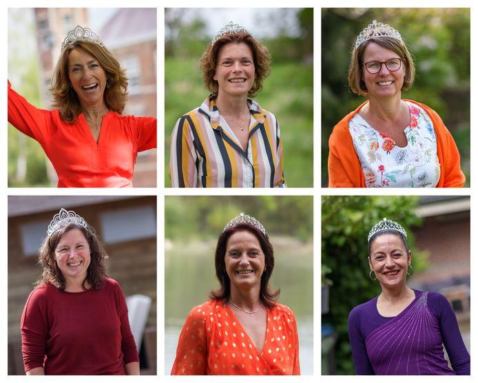 Koningin Máxima is 17 mei jarig, net als deze zes West-Brabantse vrouwen wordt ze 50 jaar.