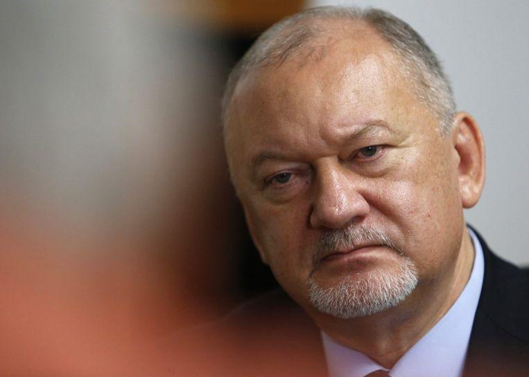 Vladimir Antyufeyev, vicepremier van de 'Volksrepubliek Donetsk'. Beeld REUTERS