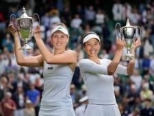 Elise Mertens et sa partenaire Su-Wei Hsieh sacrées en double à Wimbledon après un incroyable come-back