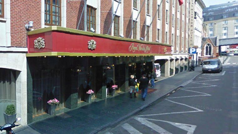 null Beeld Onder andere het Royal Windsor Hotel, dicht bij de grote markt werd geviseerd. (Foto: Google Street View)