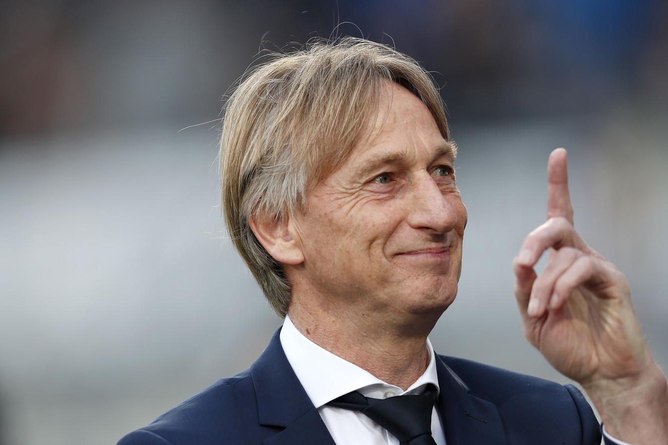 Willem II-coach Adrie Koster.