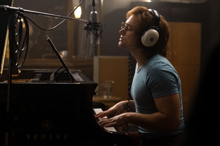Taron Egerton als Elton John in 'Rocketman'. Beeld David Appleby