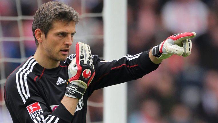 De 36-jarige Hans-Jörg Butt blijft een seizoen langer bij Bayern München. Beeld EPA